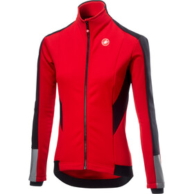 Castelli Mortirolo 3 Giacca Donna, red